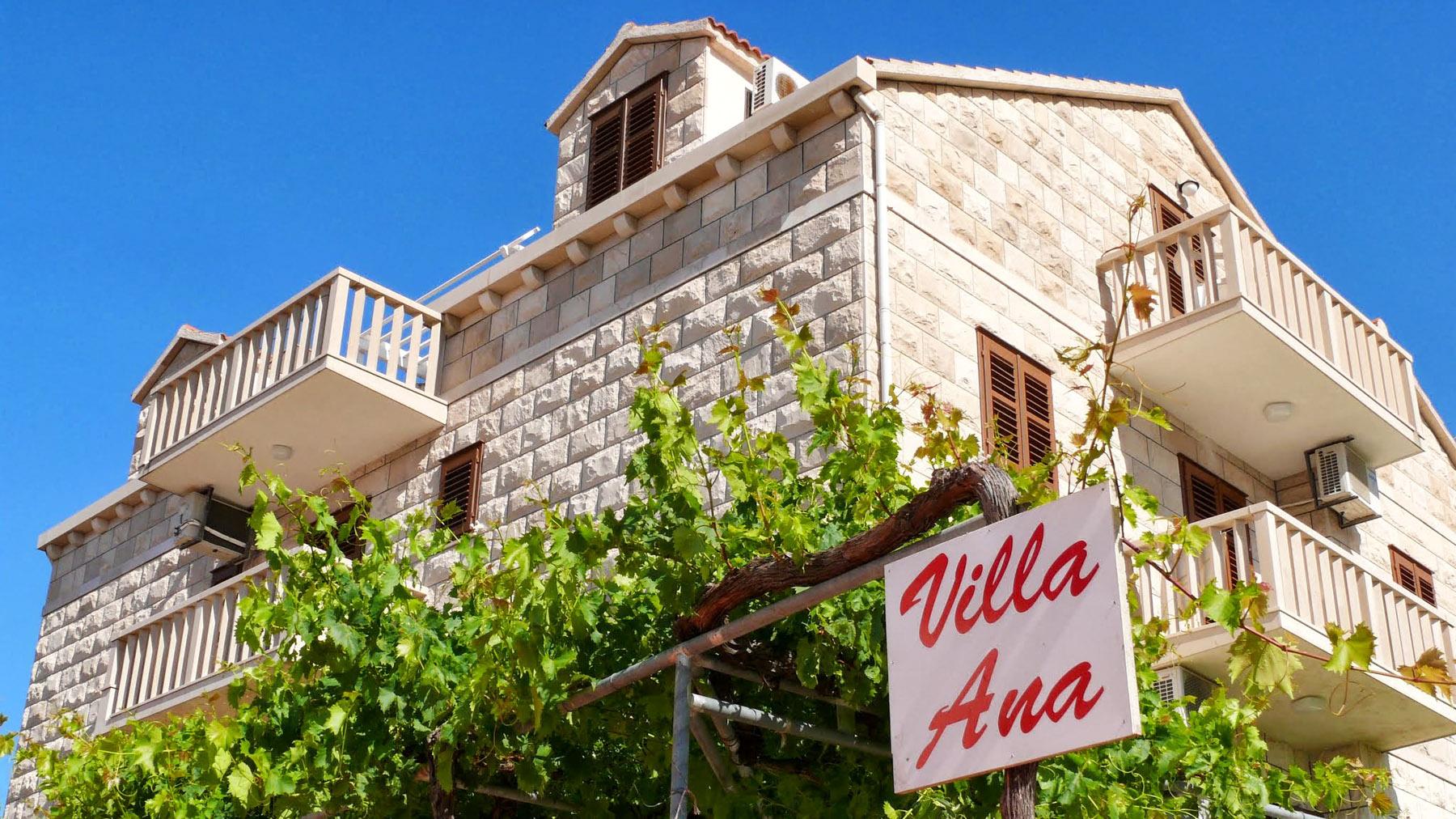 Villa Ana Bol, Croatia